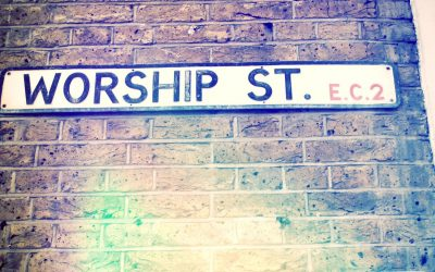 March 10: English Worship Service