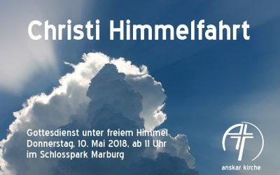 10.5.: Christi Himmelfahrt Gottesdienst Open Air