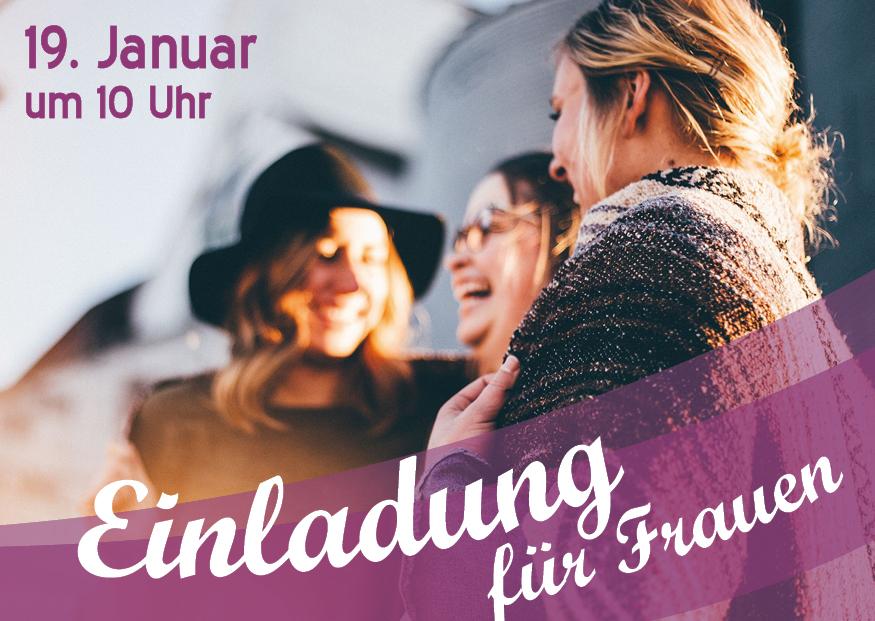 """19. Januar Frauenbrunch: """"Gesunde Beziehungen gestalten"""""""
